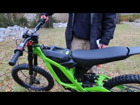 Sur Ron Bee electric motorcycle Professional Review