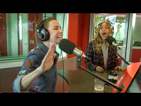 Jessica Mauboy takes on Kate Ritchie in Quick Draw