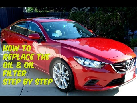 How To Change The Oil & Oil Filter In A Mazda 6 Diesel Skyactiv