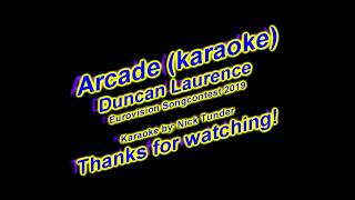 Arcade Duncan Laurence   Karaoke