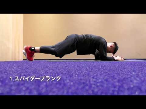 お腹周りの体幹トレーニング!【13種類を紹介】