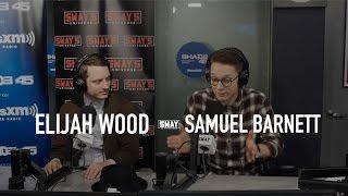 <b>Elijah Wood </b>and Samuel Barnett Interview On Sway In The Morning