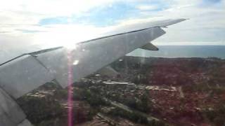 preview picture of video 'Nice afternoon landing in Bandar Seri Begawan, Brunei.'