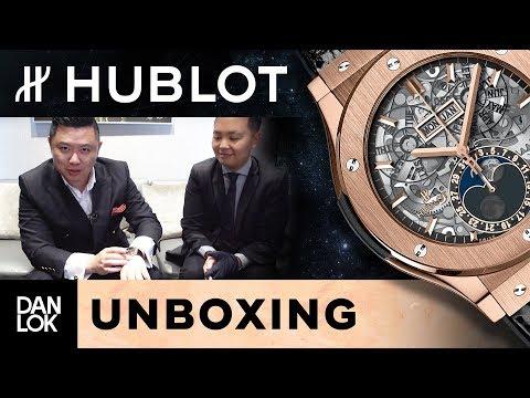 Unboxing Hublot Watch