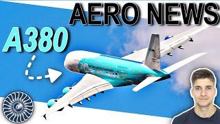 Nur noch 1 aktiver A380 in EUROPA! AeroNews