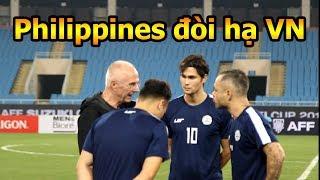 Thử Thách Bóng Đá DKP đi xem đối thủ Philippines trước trận đấu Công Phượng Quang Hải và ĐT Việt Nam