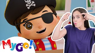 Dress Up | Sign Language For Kids | Baby Songs | Little Baby Bum | ASL