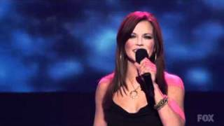 Martina Mcbride - Anyway (Live on American Idol) - HQ