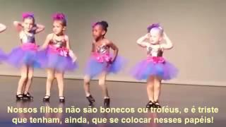 Uma reflexão sobre as apresentações  infantis