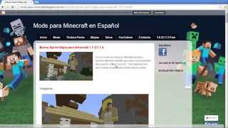 Como descargar e instalar el Mapa DESTRUYE A MILEY CYRUS (Biome Sprint) minecraft 1 7 2