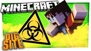 P GAS EVERYWHERE! | Minecraft Dig Site #9
