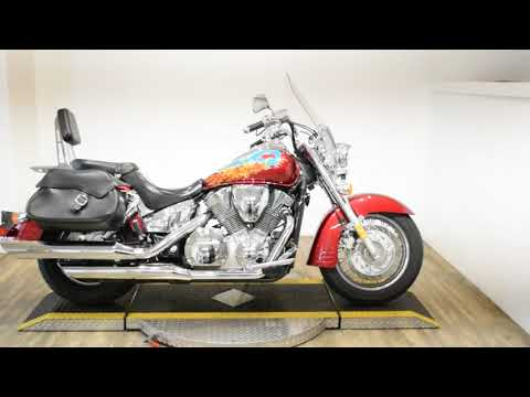 2004 Honda VTX Retro 1300 (VTX1300S) in Wauconda, Illinois - Video 1