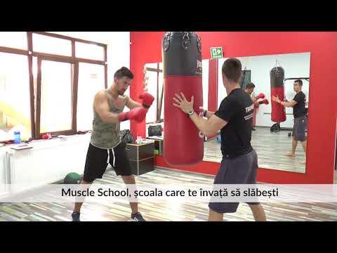 Muscle School, școala care te învață să slăbești