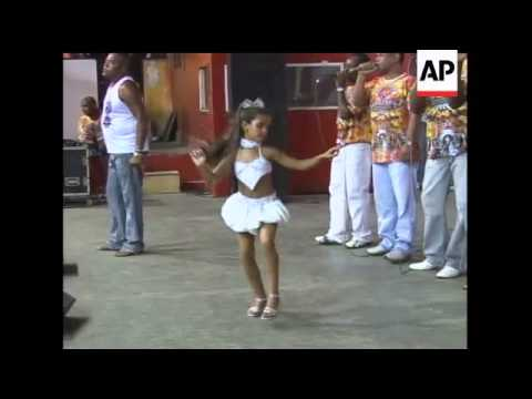 A 7-year-old who is hoping to win a competition as Rio''s sexy samba queen at this year''s