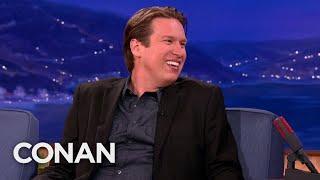 Pete Holmes Shows Conan How To Speak British   CONAN on TBS