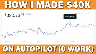 How I Made $40,636 BITCOIN Mining on Autopilot (No Work) | Earn 1 BTC in 1 Day