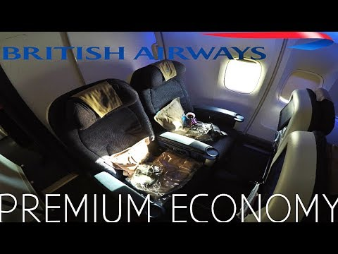 BRITISH AIRWAYS PREMIUM ECONOMY HONEST REVIEW
