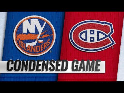 03/21/19 Condensed Game: Islanders @ Canadiens