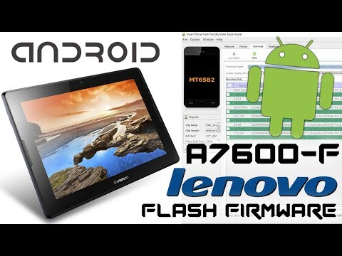 Lenovo A10-70 A7600-F Android tablet How to Flash Stock Rom Recovery Firmware