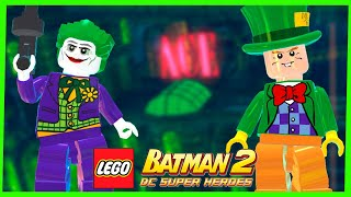 LEGO Batman 2 DC Super Heroes #21 CORINGA E CHAPELEIRO LOUCO Gameplay Português PC