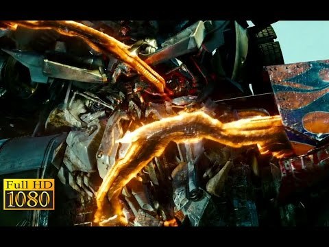 Transformers 2 Revenge of The Fallen (2009) - Battle in The Forest scene (1080p) FULL HD