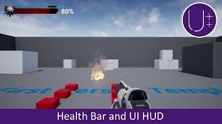 Unreal Engine 4 C++ Tutorial: Health Bar and UI HUD