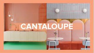 Cantaloupe - a cor da felicidade em 2020