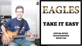 The Eagles Take It Easy guitar lesson