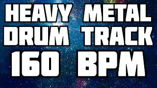 Heavy Metal Drum Track #1 [160 BPM]