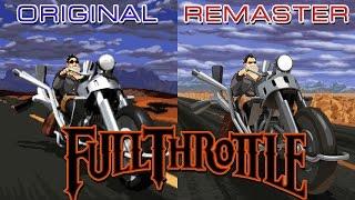 Full Throttle: Original vs Remaster Comparison