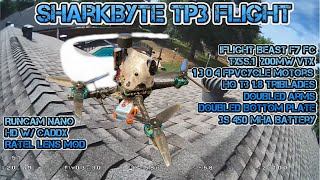 Runcam Nano HD w/ Caddx Ratel m12 lens mod - TP3 flight - Sharkbyte 200mW TX5S.1 vtx FPV footage