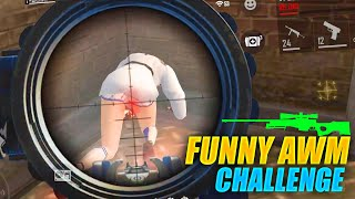 Funny AWM Challenge - 21 Kills Total In Free Fire With AWM + Mp40 | Garena Free Fire - P.K. GAMERS