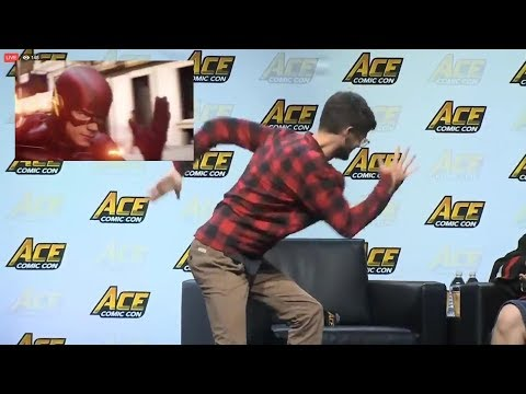 ACE Comic Con Panel Funny Moments with Grant Gustin (2018)