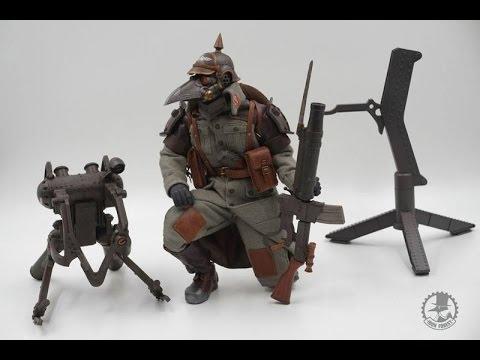 鐵森林 1/6 原創系列 RaidMan 突擊兵 part01(外盒與內容) 開箱