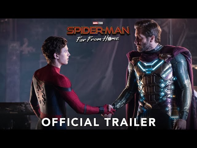 SPIDERMAN FAR FROM HOME 3D  Trailer