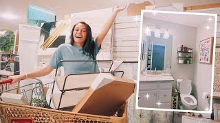 Shopping + Decorating My New Bathroom *bathroom Tour*