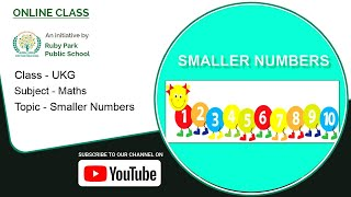 UKG | Maths for Kids | Smaller Numbers | Example of Smaller Numbers | Ruby Park Public School Thumbnail