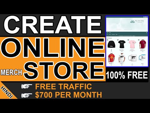 How to Create Your Own Online Store in Hindi (2020 / 2021)   Build E Commerce Store FREE