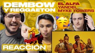[Reacción] El Alfa, Yandel, Myke Towers   Dembow Y Reggaeton (Video Oficial)   ANYMAL LIVE 🔴