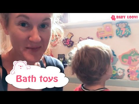 Bath toys abc Letters and Numbers Educational and Early Learning