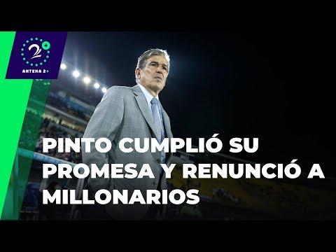 Pinto cumplio su promesa y renuncio a Millonarios