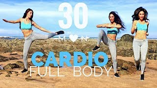 30 Min Fat Burning Cardio Workout | Waist, Hips, Abs, Legs... Full Body by Susana Yábar