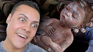WE GAVE BIRTH TO A ZOMBIE BABY (The Walking Dead)