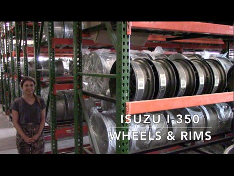 Factory Original Isuzu I-350 Wheels & Isuzu I-350 Rims – OriginalWheels.com