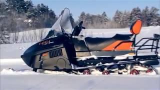 Отечественные снегоходы для охоты и рыбалки