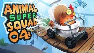 БОЛЬ В ПОЛЕТЕ! - #4 ПРОХОЖДЕНИЕ ANIMAL SUPER SQUAD