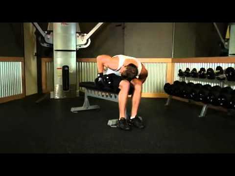 Seated Bent-Over One-Arm Dumbbell Triceps Extension Arka Kol Hareketi Nasıl Yapılır