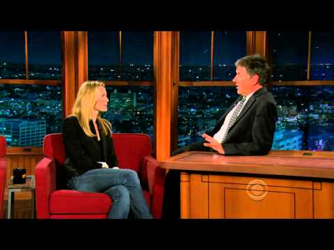 Late Late Show with Craig Ferguson 11/25/2009 Robin Wright, Wolfgang Puck