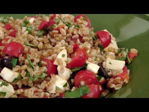Italian Farro Salad Recipe – by Laura Vitale – Laura in the Kitchen Episode 122