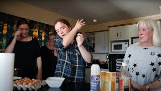 Baking With Tourettes and My Family!!